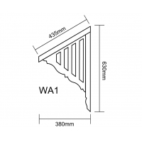 Window Awnings - WA 1 (Slats Only)