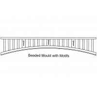 Curved Fretwork – Beaded