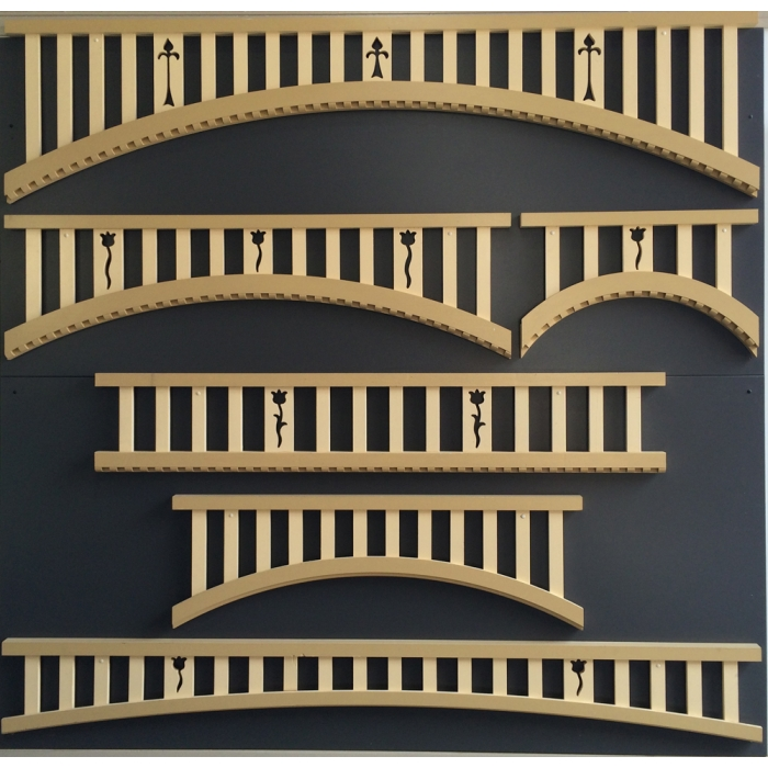 External Timber Curved Fretwork Verandah Fretwork