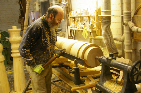 Ryan Woodworks are specialists in CUSTOM wood turning and CUSTOM wood machining with over 25 years' experience.